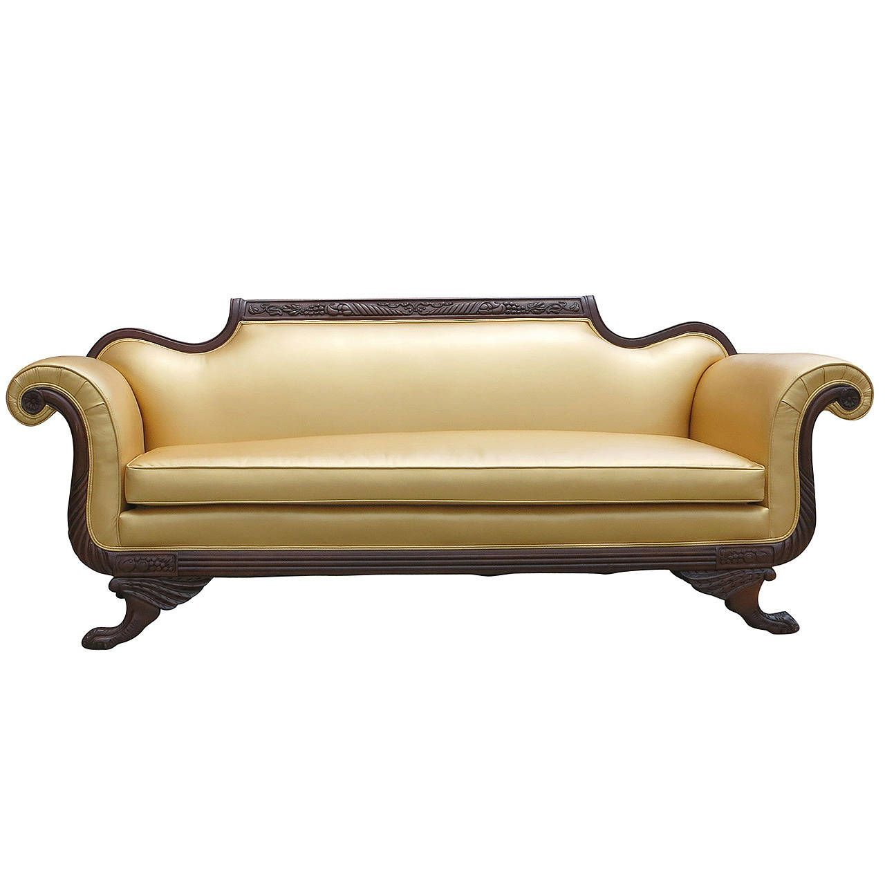 Empire Sofa duncan phyfe style empire sofa duncan phyfe royal furniture and