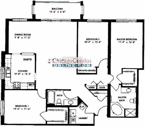 5555 N Cumberland O Hare Condo Information Floor Plans Cumberland Chicago Condos