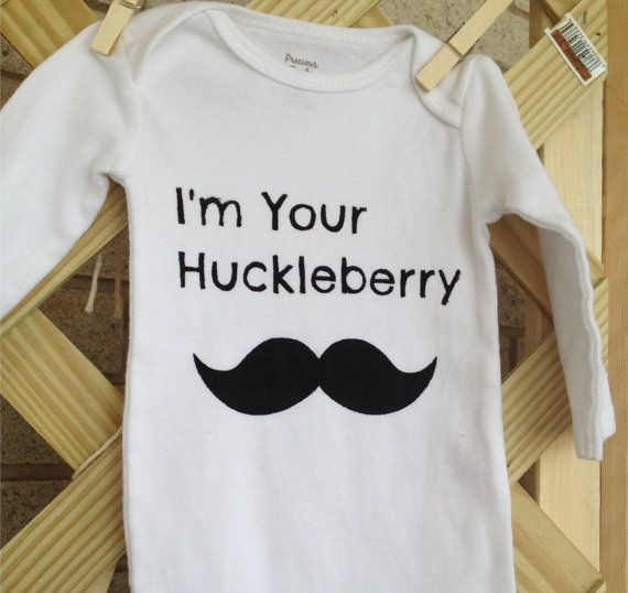 #Tombstone #docholiday Onesie / Tshirt  I'm Your Huckleberry by @Bugaroo Boutique, $15.00 :: Most sizes available - click link for details