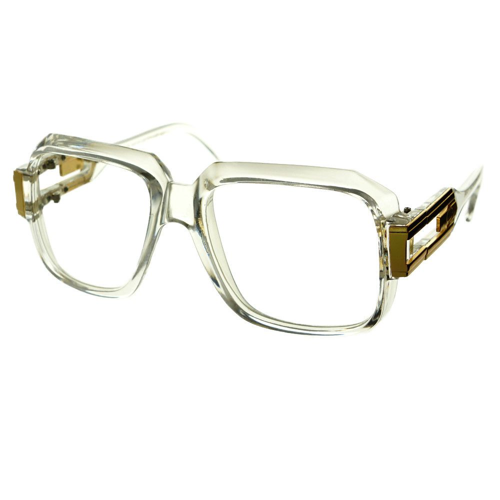 clear #lens #old #school #retro #vintage #style #large #aviator ...