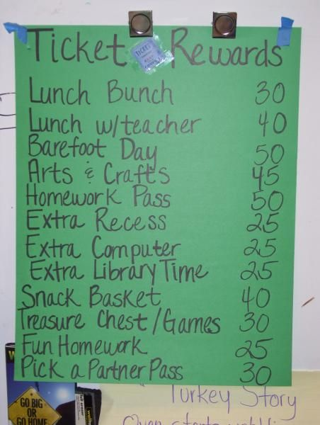 Classroom Reward Ideas High School : Google image result for http ows edb utexas sites
