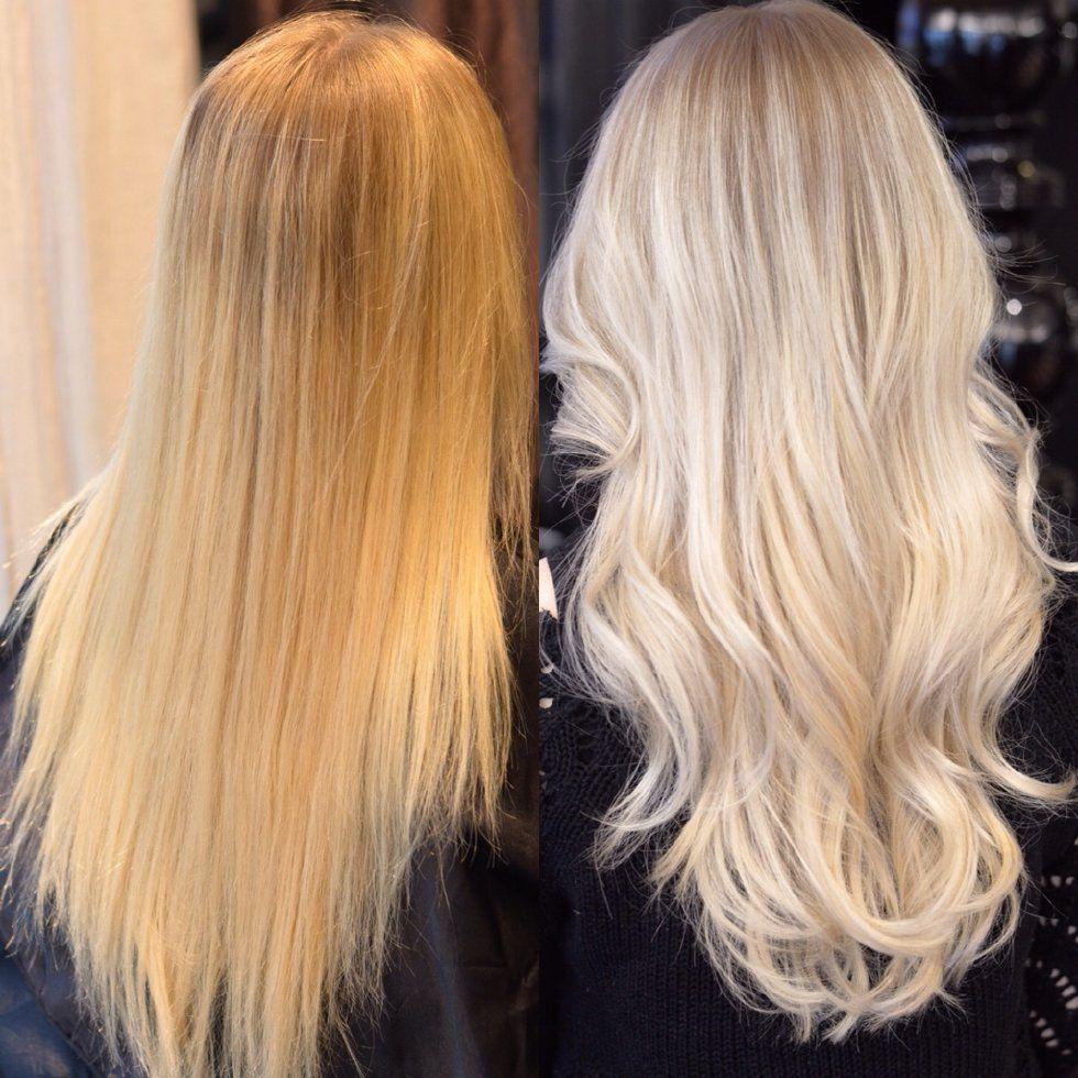 B&A - cold blonde! - Elin Johansson - Metro Mode