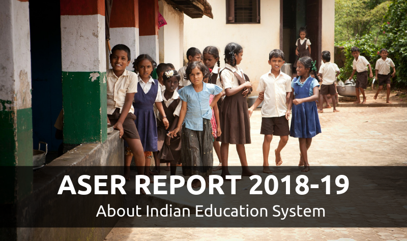 Aser Report Is Published By Ngo Pratham The Annual Report Presents The State Of Education In India Th Education In India Distance Learning Programs Education