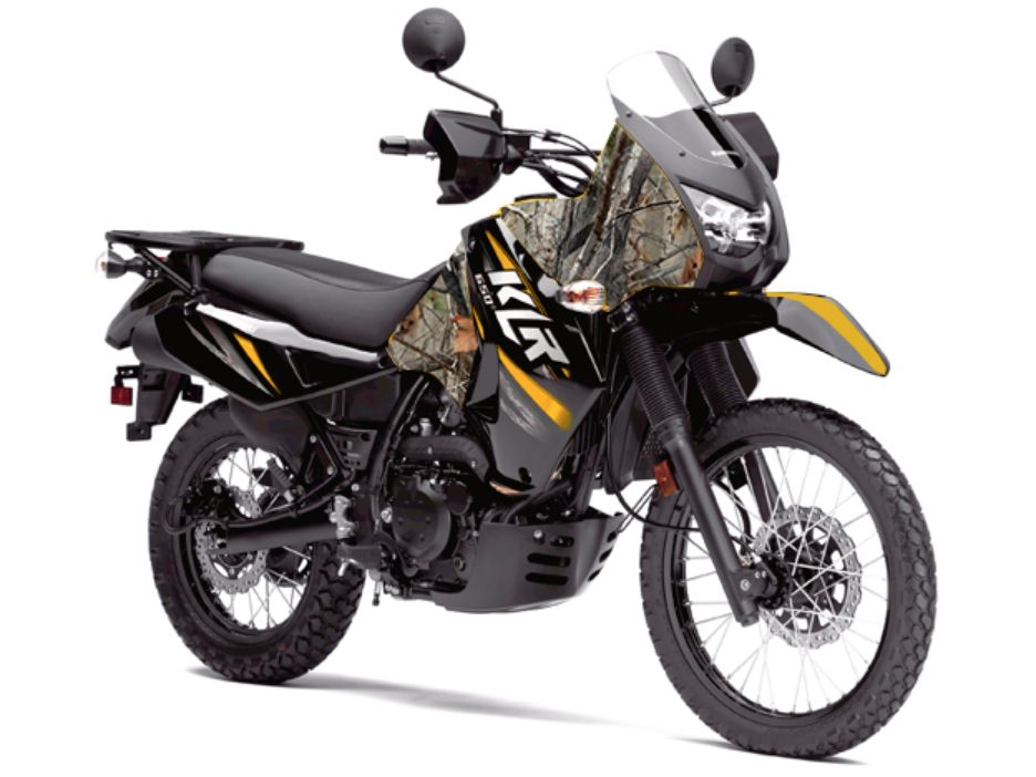 Camo paint is rdh approved. Touring bike, Klr 650