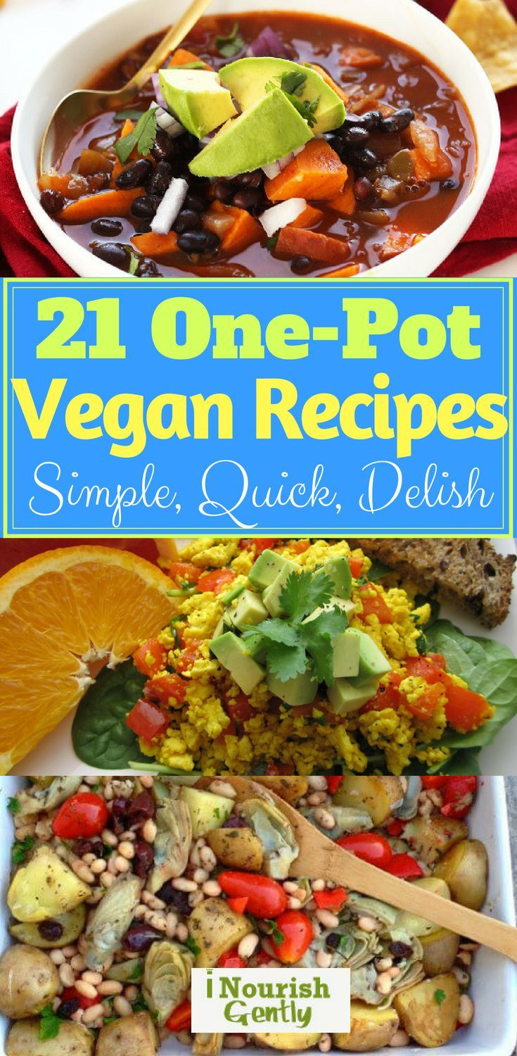 21 Vegan One Pot Recipes To Cover 3 Weeks Worth Of Tasty