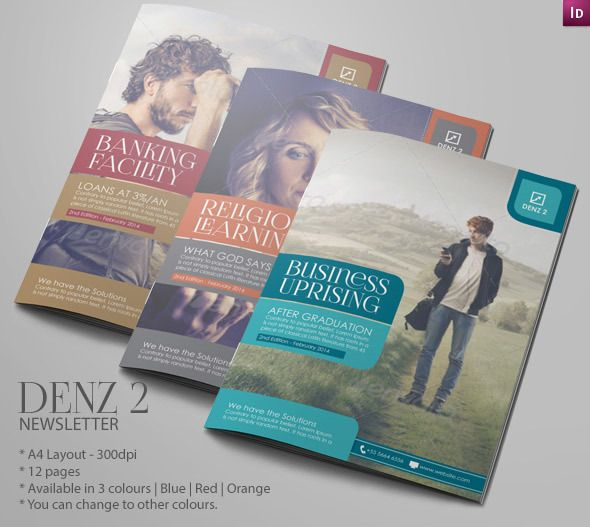 Business Newsletter Ideas  Modern Design By Innovative Design