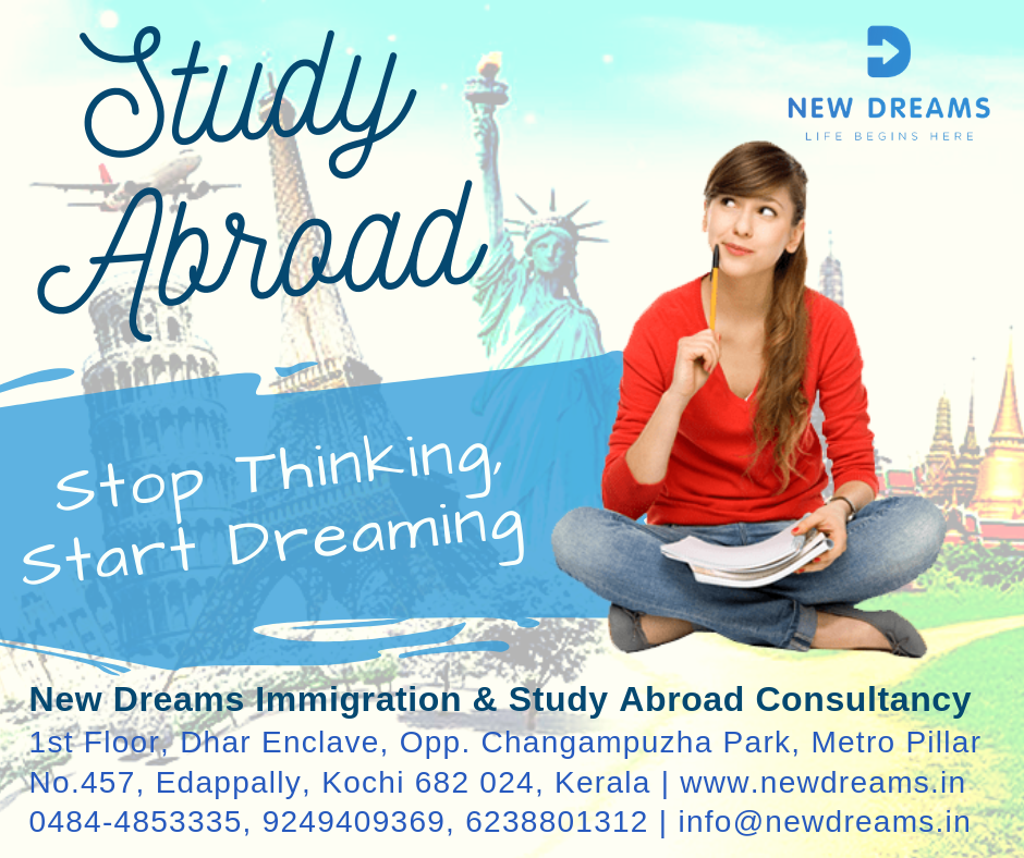 The Best Study Abroad Options With New Dreams We Support