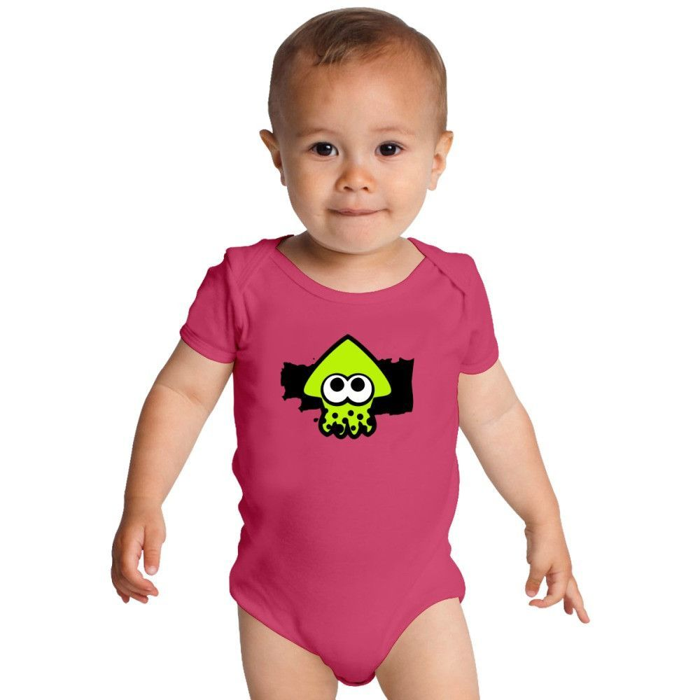 Splatoon Squid Baby Onesies