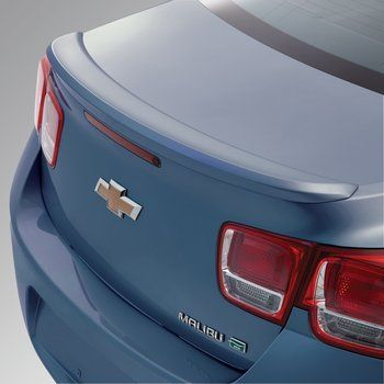 2015 Malibu Spoiler Kit Flushmount Atlantis Blue Metallic 22882686 Chevrolet Accessories Chevy Sports Cars Malibu