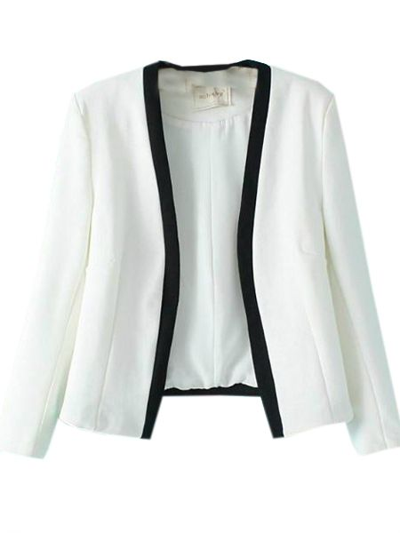 Absorbing Collarless Assorted Colors Blazers Only $29.95 USD More info...