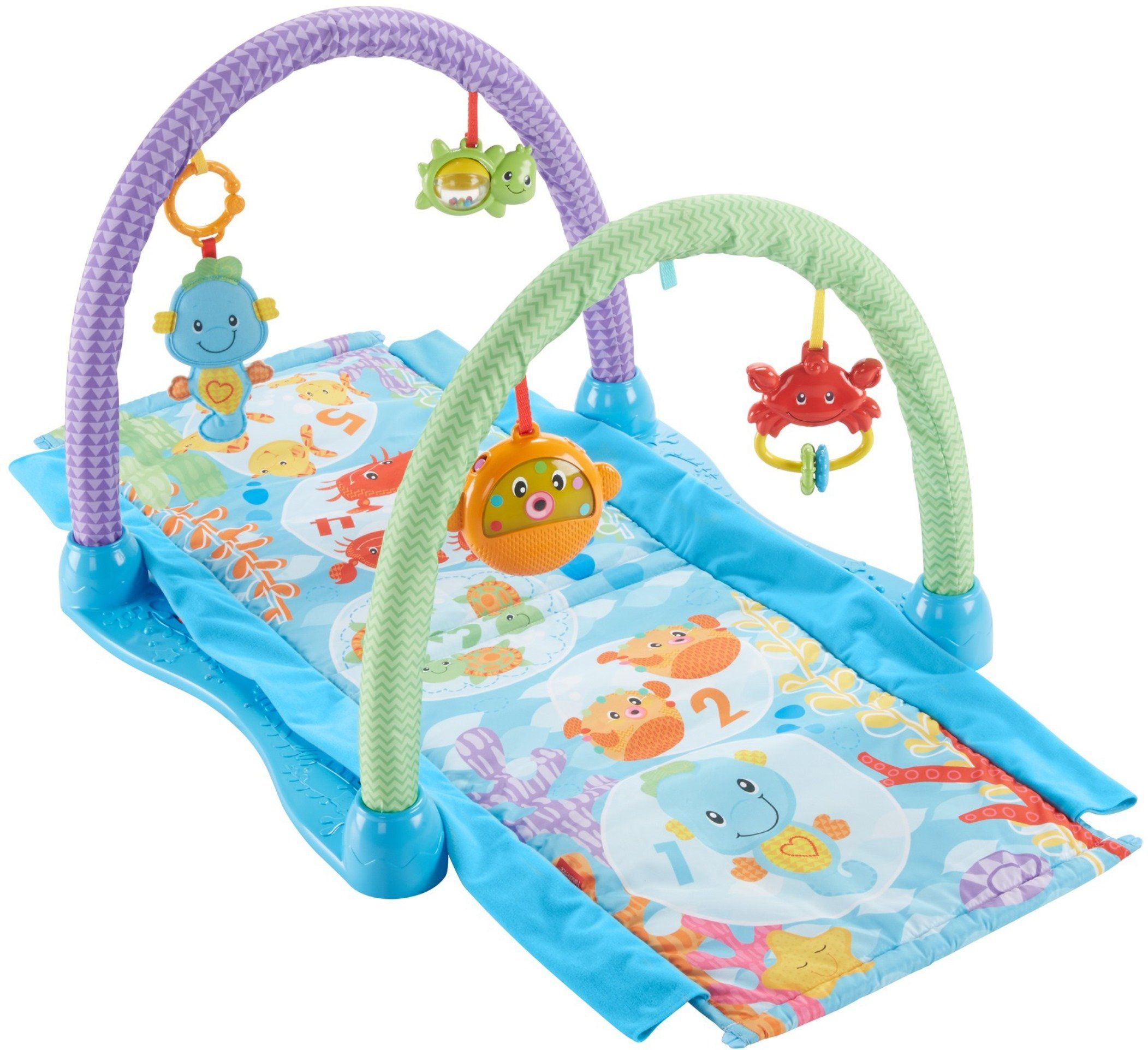 fisher price rainforest friends musical gym reviews