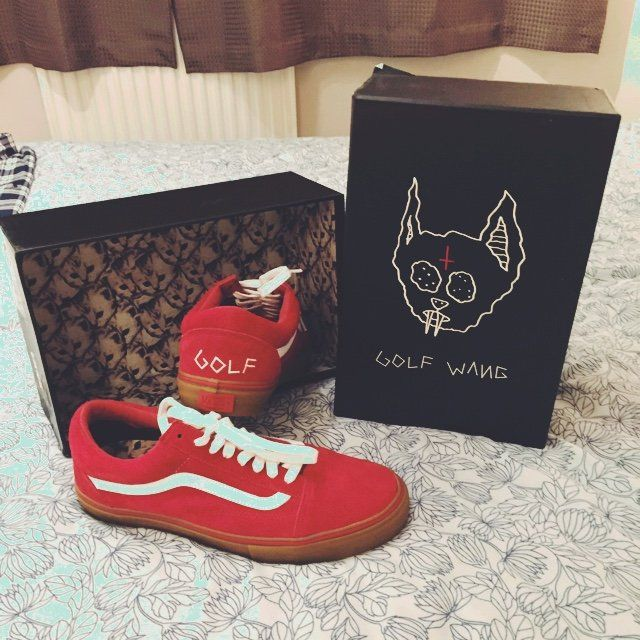 26c1e26f8295 Brand New Golf Wang Vans with ...