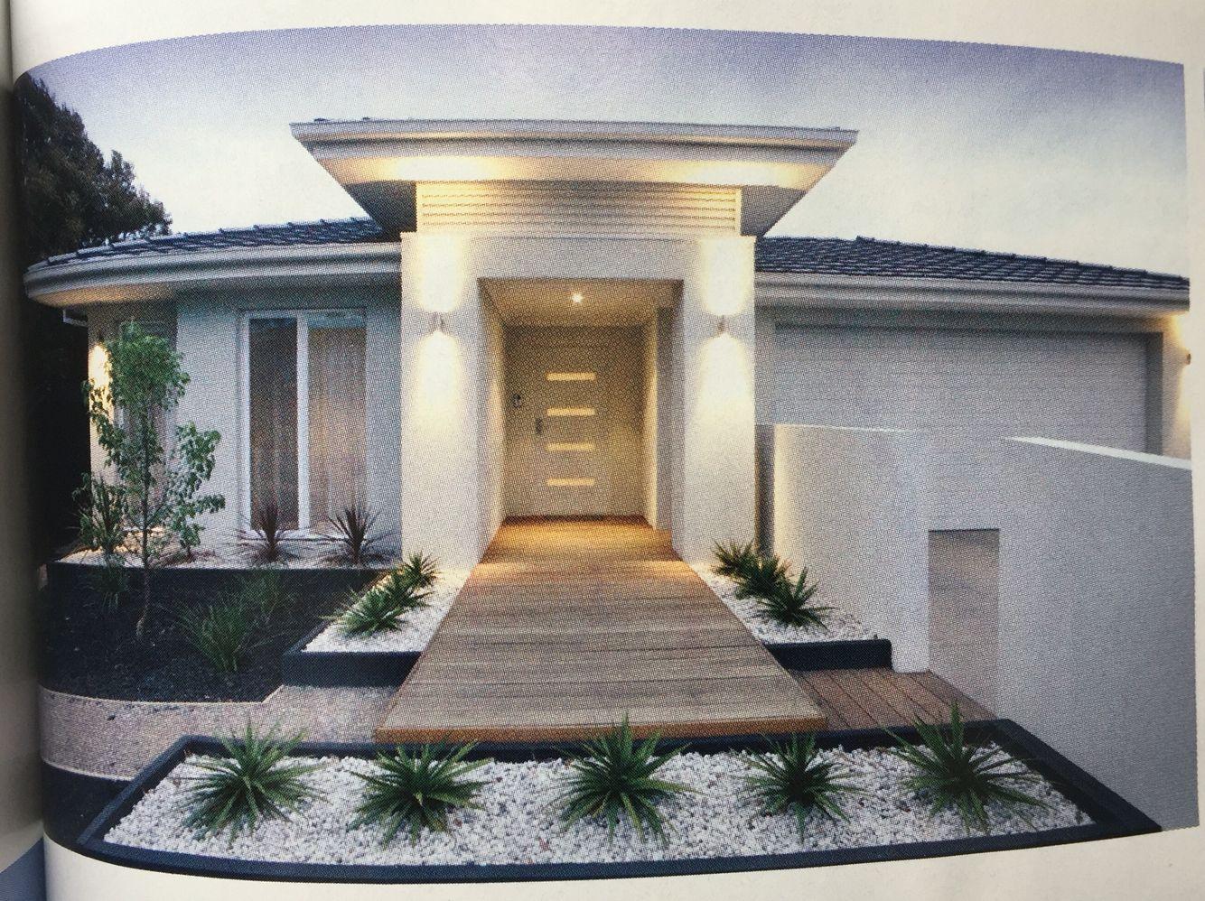 Grassless front yard | Modern landscaping, Small front ... on Grassless Garden Ideas  id=51243