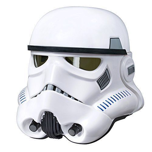 Star Wars Stormtrooper Helmet The Black Series Imperial Electronic Voice Changer  | eBay