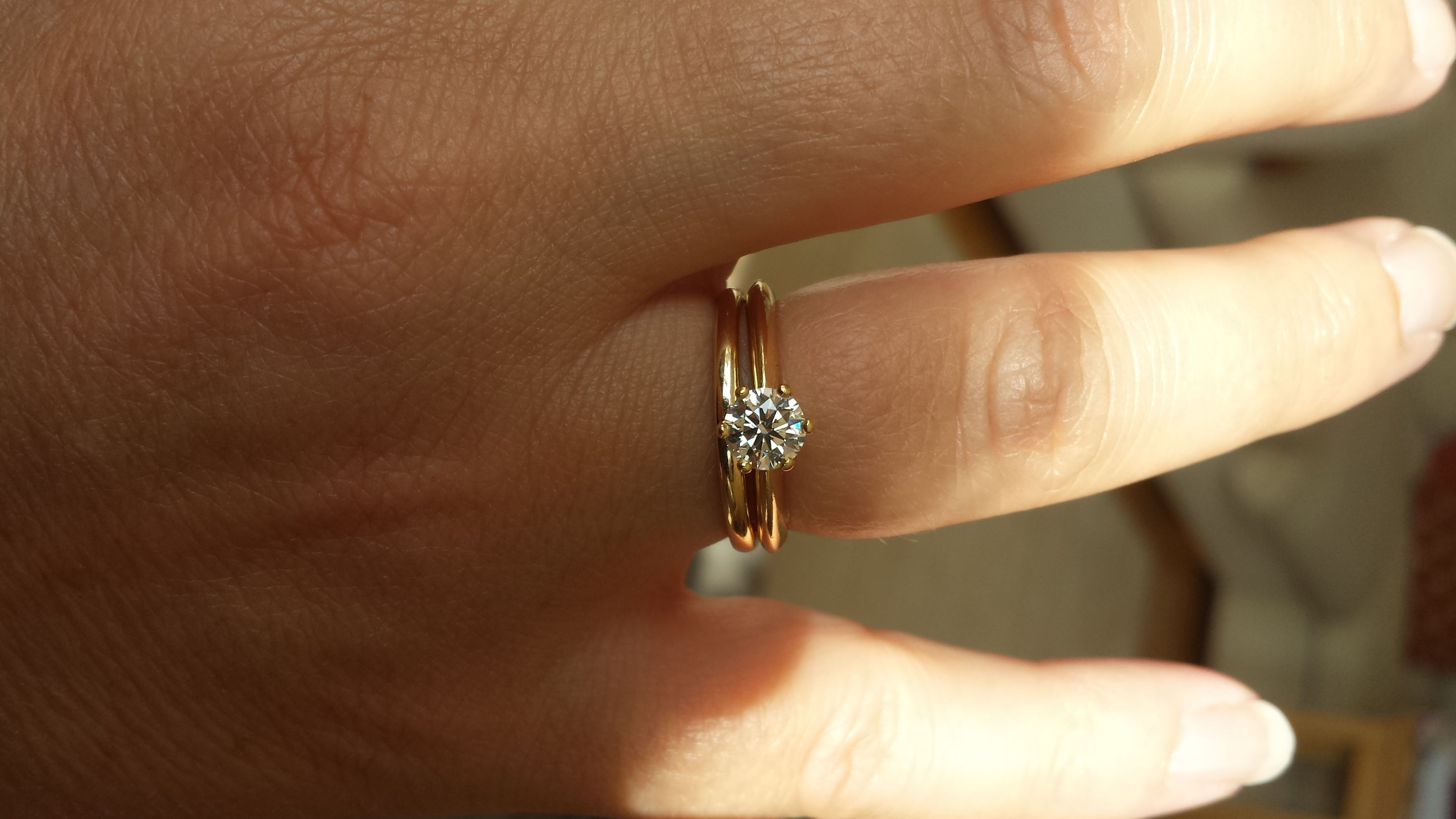 1 2 Carat Engagement Ring Too Small