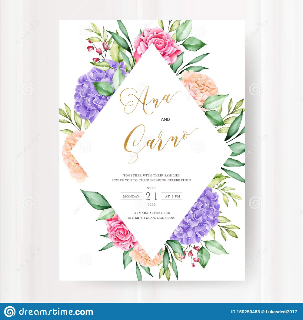 Watercolour Floral And Leaves Seamless Pattern Stock Vector Illustration Of Card Natural 150250483