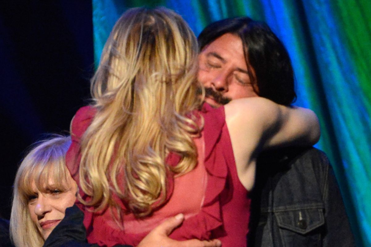 Dave Grohl: My hug with Courtney Love was 'real' and 'beautiful'