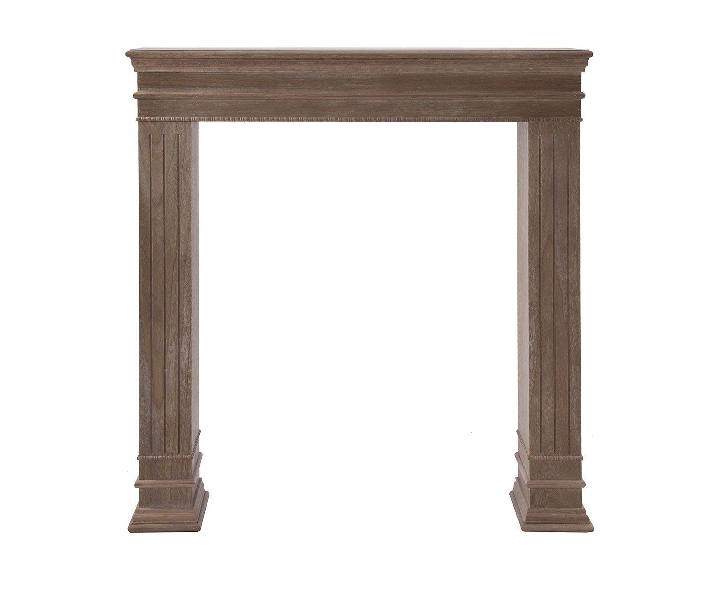 Marco embellecedor para chimeneas de madera de paulonia - Madera para chimenea ...