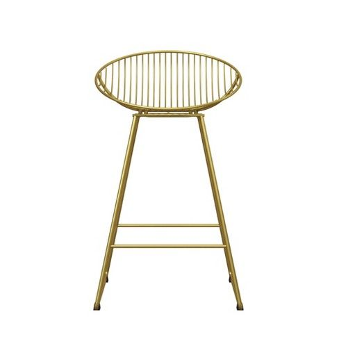 Wondrous Ellis Wire Counter Stool Gold Cosmoliving In 2019 Creativecarmelina Interior Chair Design Creativecarmelinacom