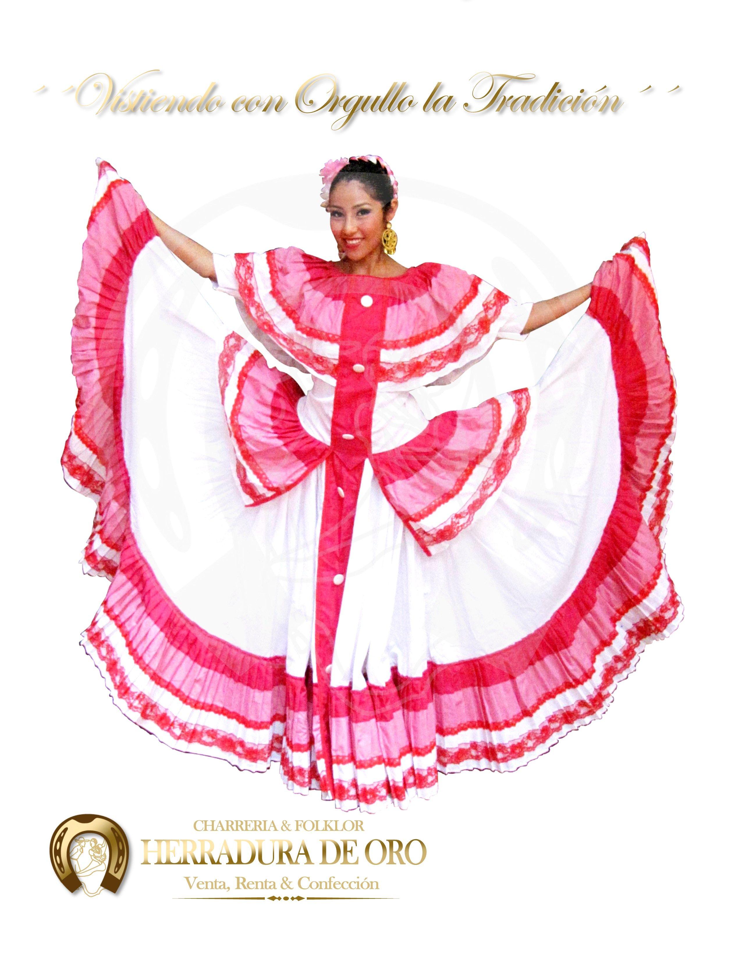 Traje folklorico del estado de Colima #2292 Venta, renta y ...