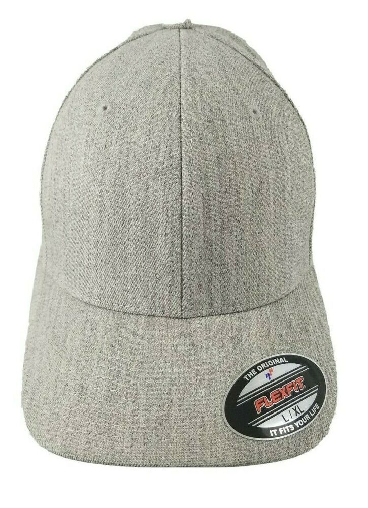 Flexfit structured wool cap fitted baseball hat structured