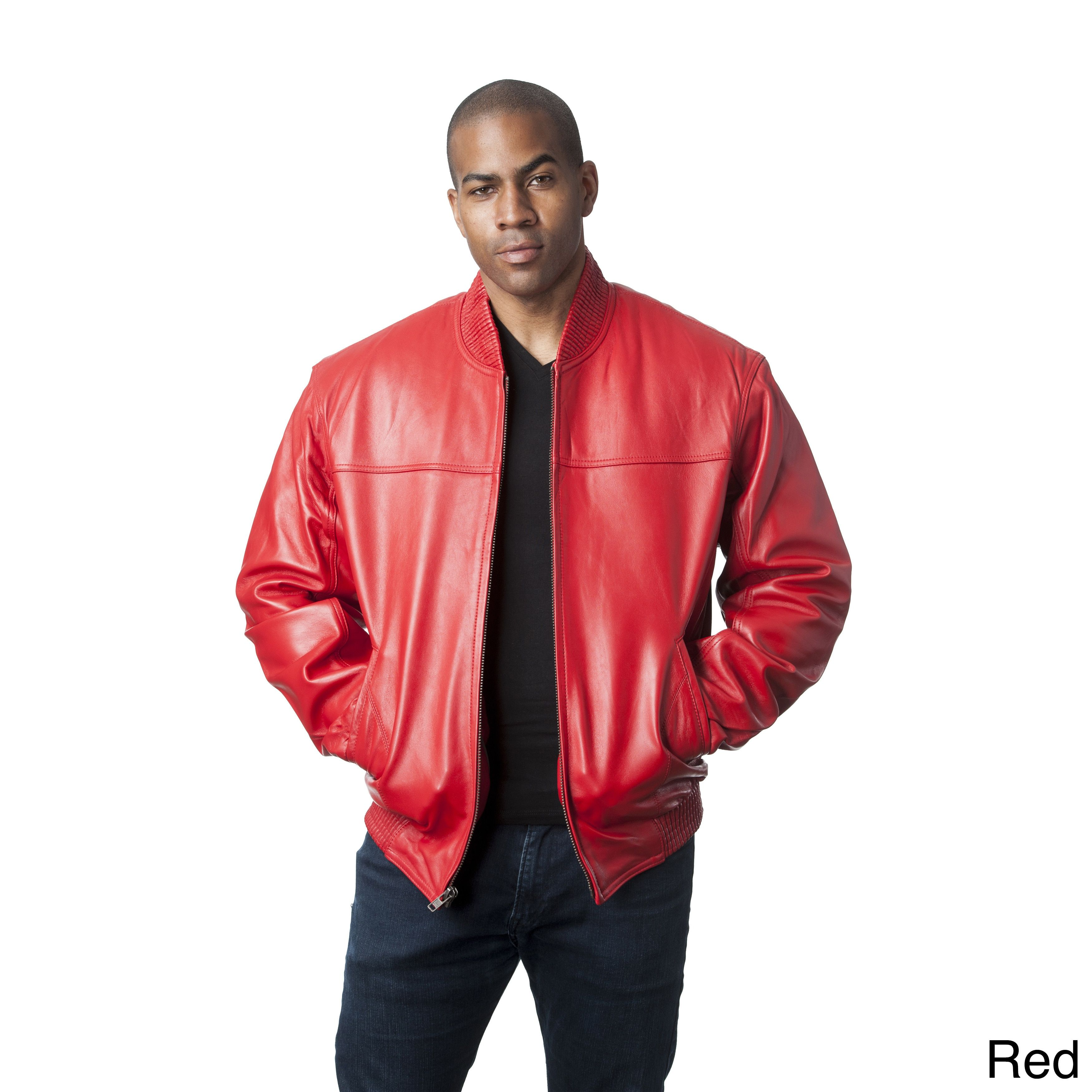 Our Best Men S Outerwear Deals Leather Bomber Jacket Red Jacket Leather Shop Mens Clothing [ 3500 x 3500 Pixel ]