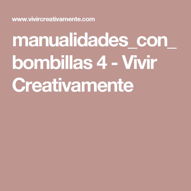 manualidades_con_bombillas 4 - Vivir Creativamente