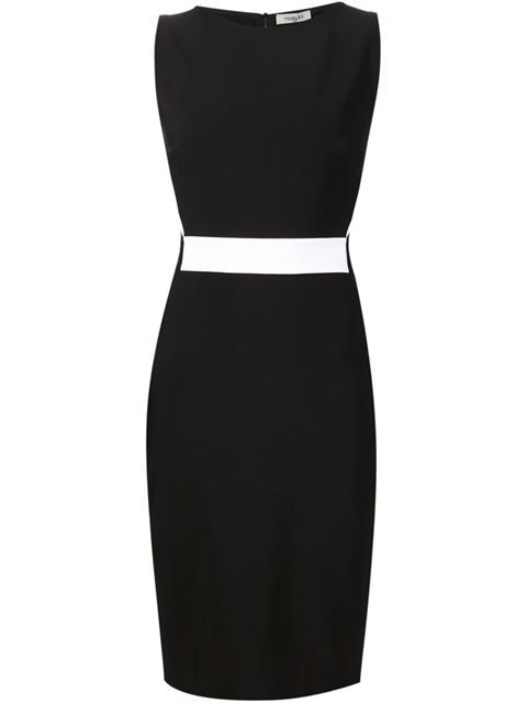 Shop Mugler sleeveless fitted dress  in Hirshleifers from the world's best independent boutiques at farfetch.com. Shop 300 boutiques at one address.