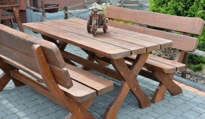 Meble Ogrodowe Drewniane Bolero 180 Cm Hit Outdoor Table Outdoor Decor Picnic Table