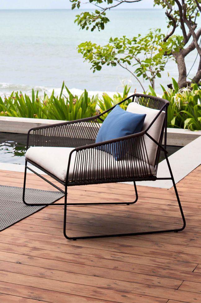 Fauteuil Outdoor Sur La Corde Salon De Jardin Design Salon De