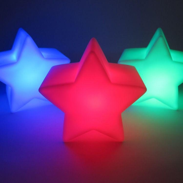 Led Star Decor Lamp 8 Mode Multi