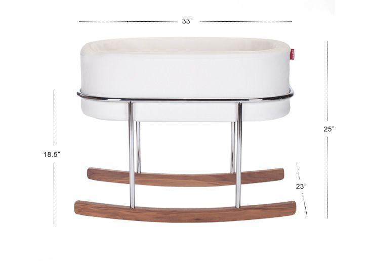 Rockwell Bassinet Modern Baby Furniture Bassinet Rocking Bassinet