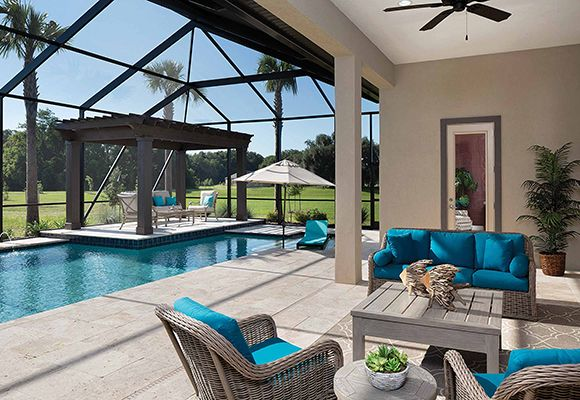 Luxury Custom Homes | Arthur Rutenberg Homes | Back yard ideas ...