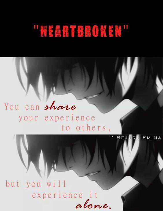 Anime Sad Girl Quotes: Anime Quote:
