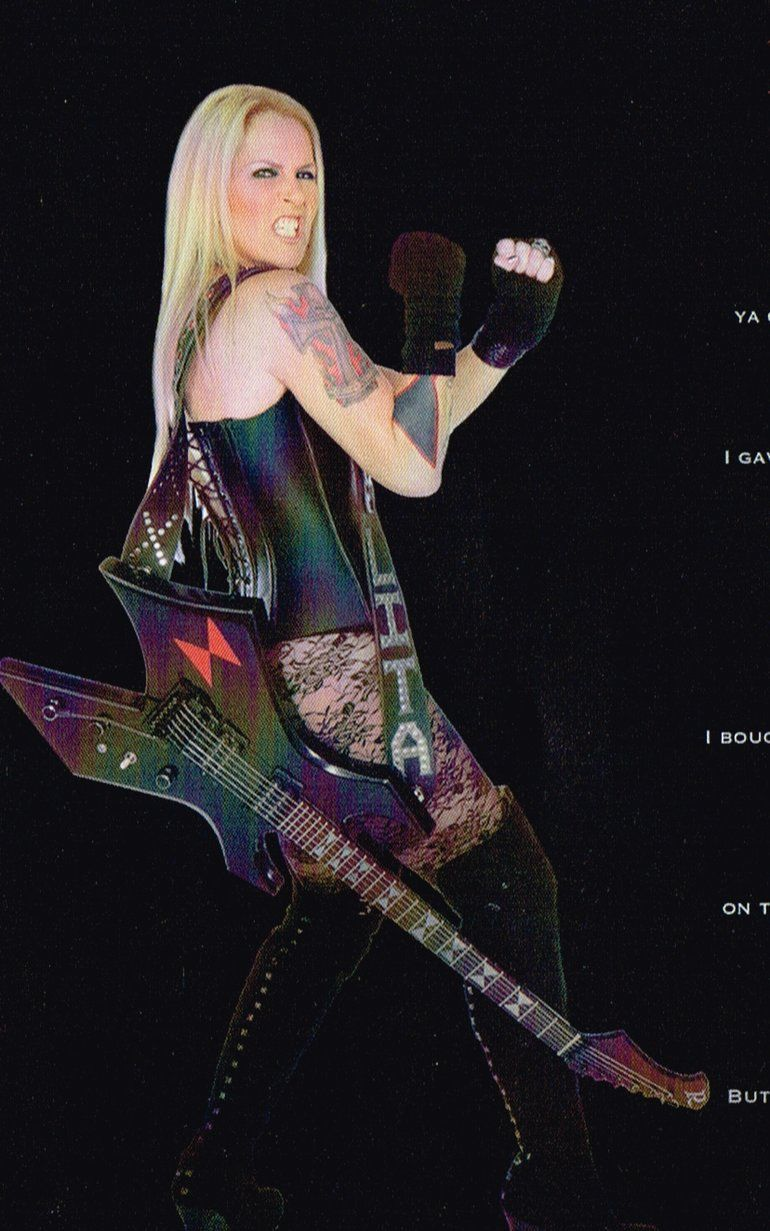 Sin título metal girls and rock pinterest lita ford heavy
