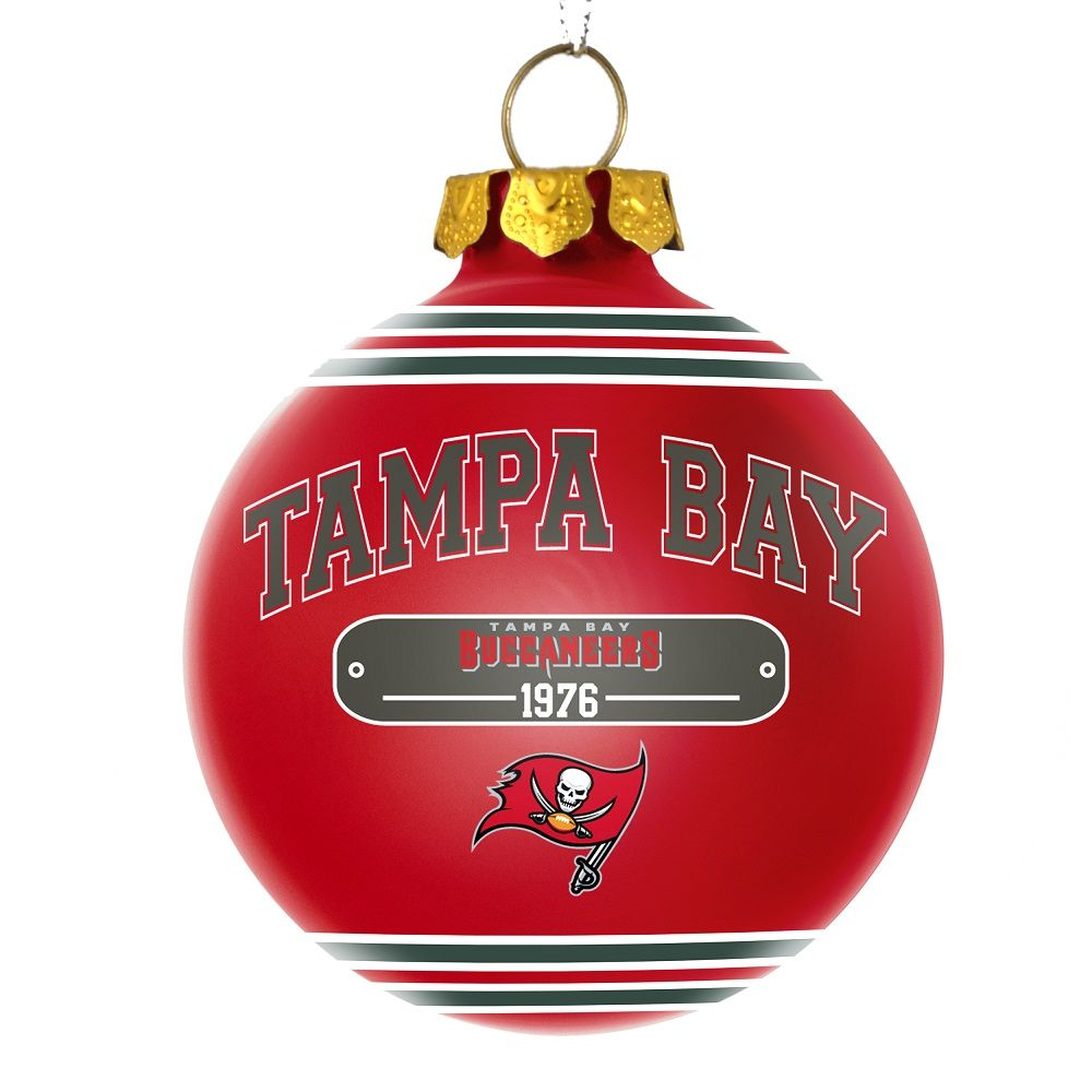 Bucs - Official Online Store - Buccaneers Plaque Ball Ornament 8eacbe2cede