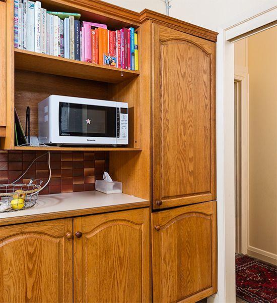 How to fix a broken cabinet door hinge   Home repairs ...