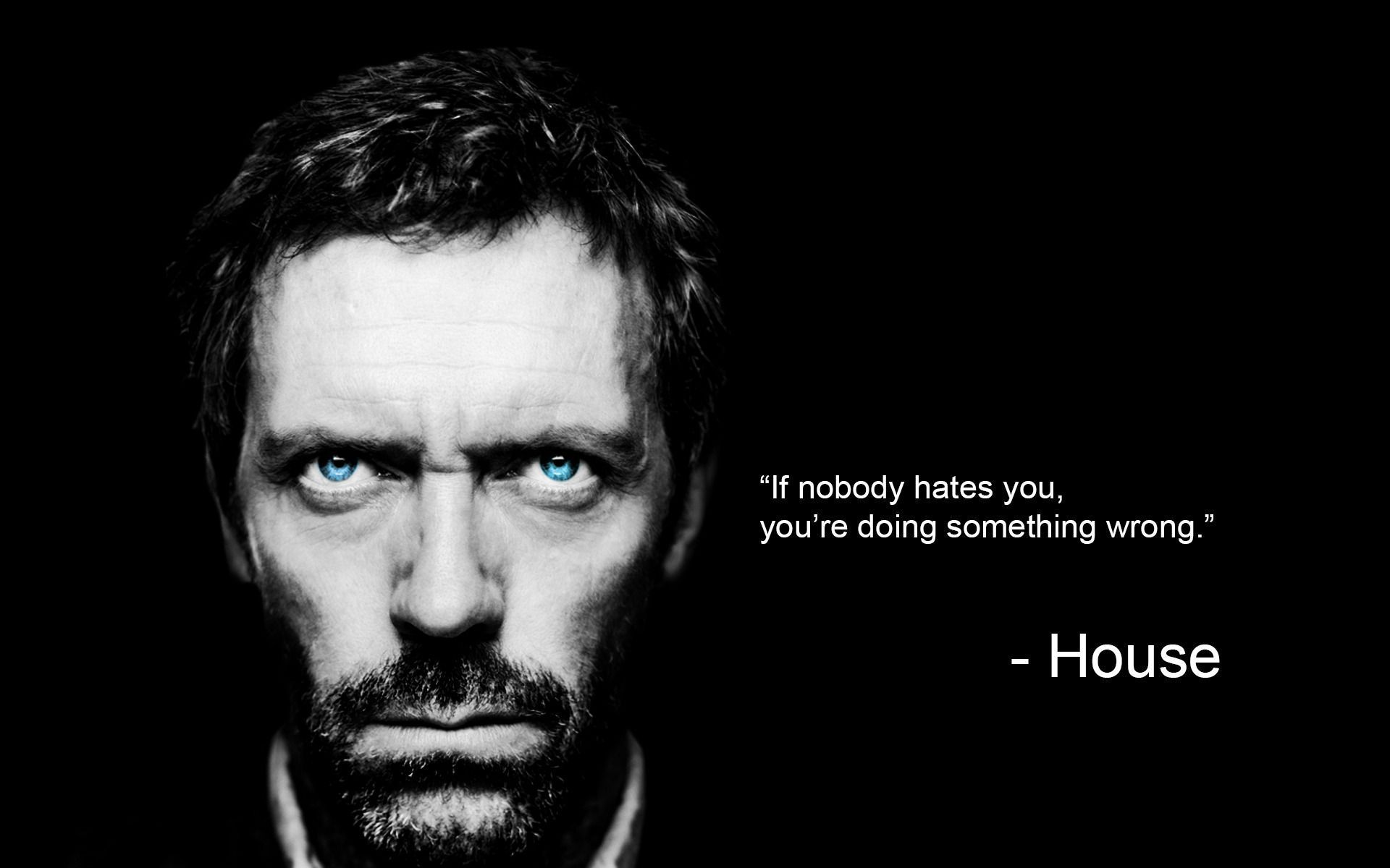 House Md Wallpapers Wallpaper Cave Dr House Quotes House Md