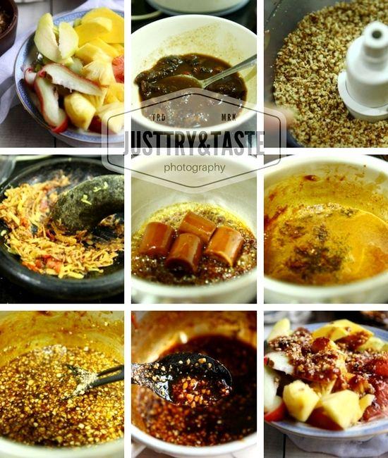 Resep Rujak Buah Bumbu Curah Jtt Resep Resep Masakan Buah