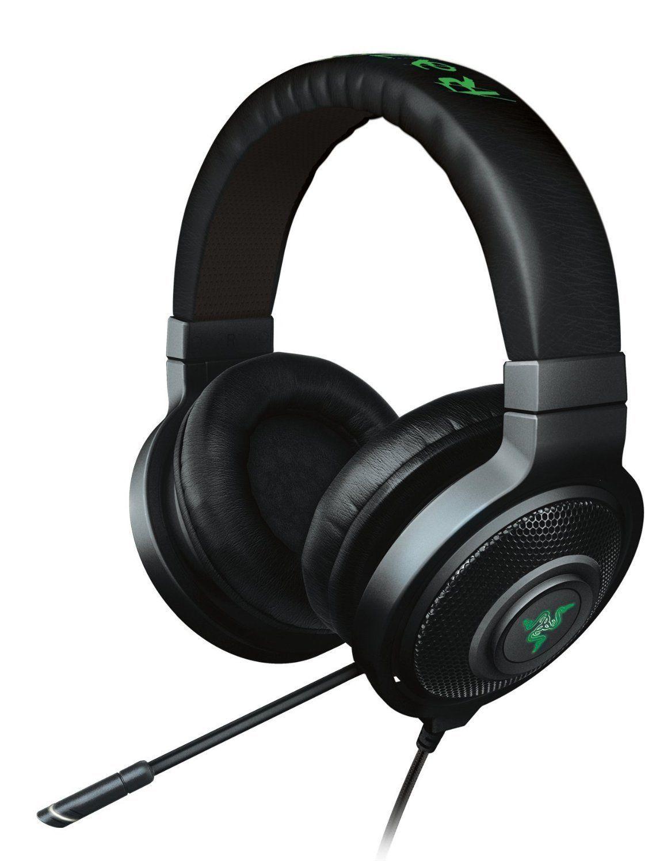 Razer Kraken Chroma 7 1 Surround Sound Wired Usb Gaming Headset W Mic Advanced 7 1 Virtual Surround Sound Engi Best Gaming Headset Headset Gaming Headphones