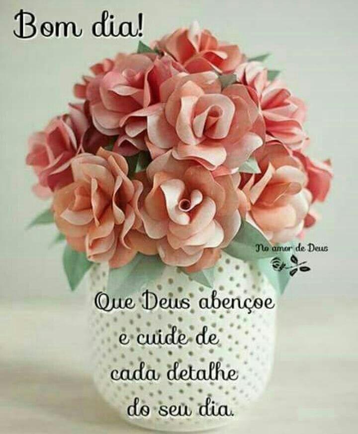 Bom Dia Bom Dia Com Flores Imagens De Bom Dia Mensagens Lindas