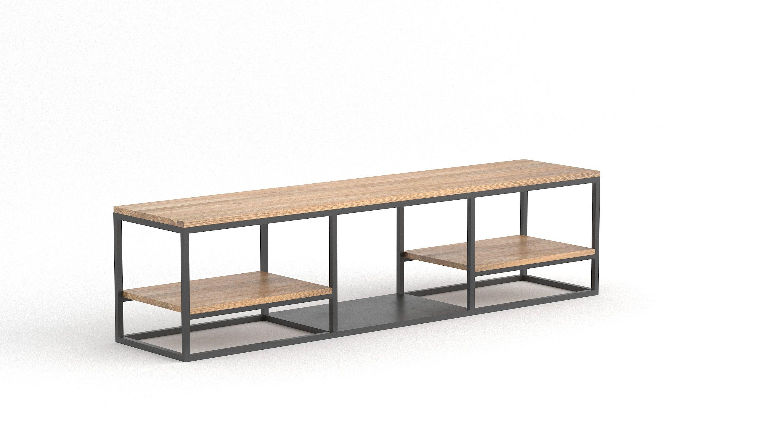 tv lowboard tv schrank hifi schrank tv bank tv lowboard holz lowboard sideboard. Black Bedroom Furniture Sets. Home Design Ideas