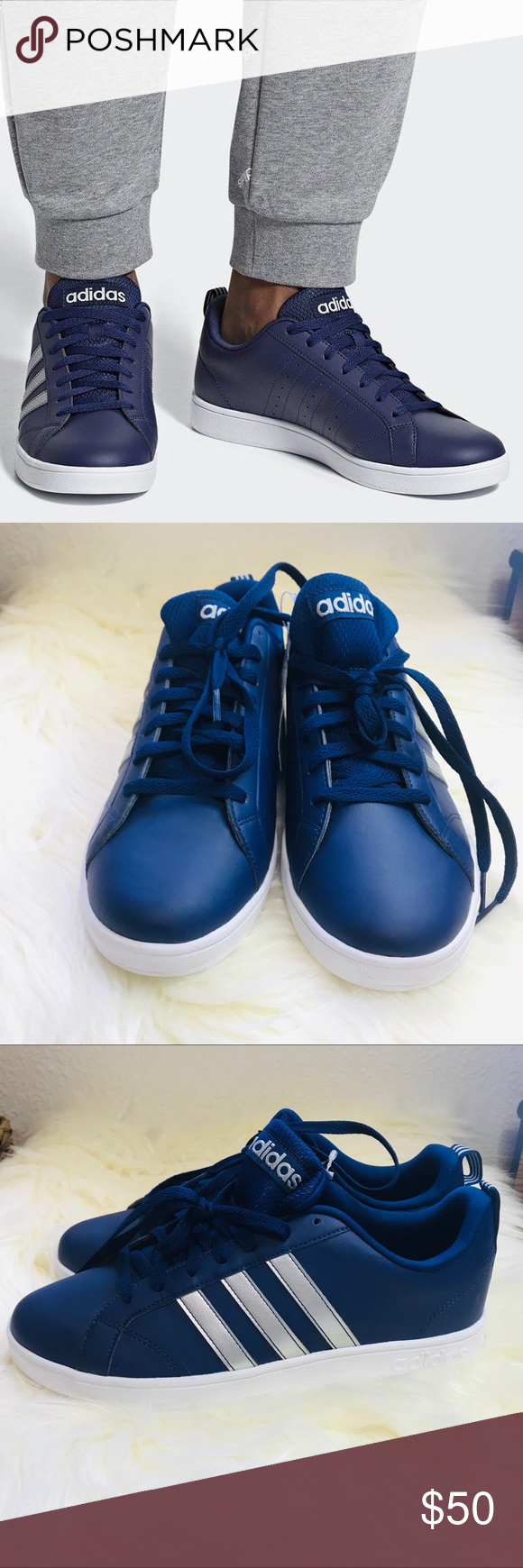 Adidas Men's Neo Vs Advantage Tennis Shoes ADIDAS NEO VS ADVANTAGE ...