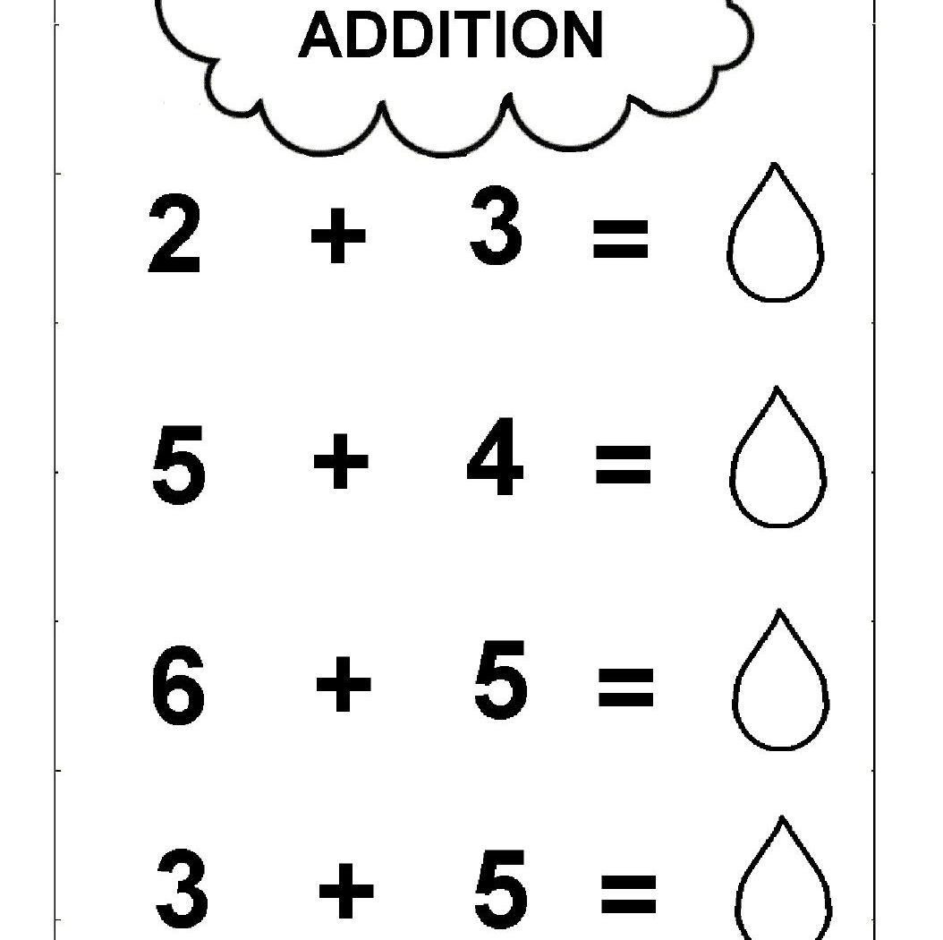 Simple Addition Worksheets To Free Download Simple