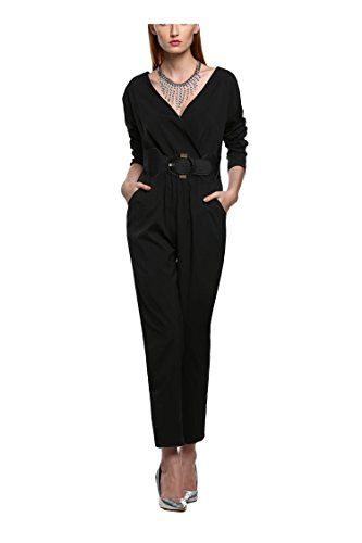 Zeagoo Women's 2016 Spring Summer Playsuit Club Cocktail Jumpsuit Romper ** You can find out more details at the link of the image.