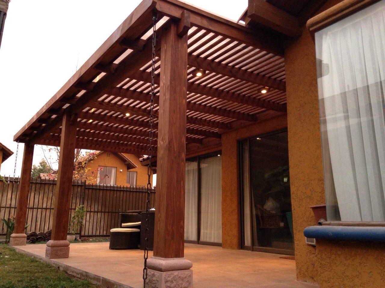 Resultado de imagen para pergolas de madera exteriores for Cobertizo de madera ideas de disenos