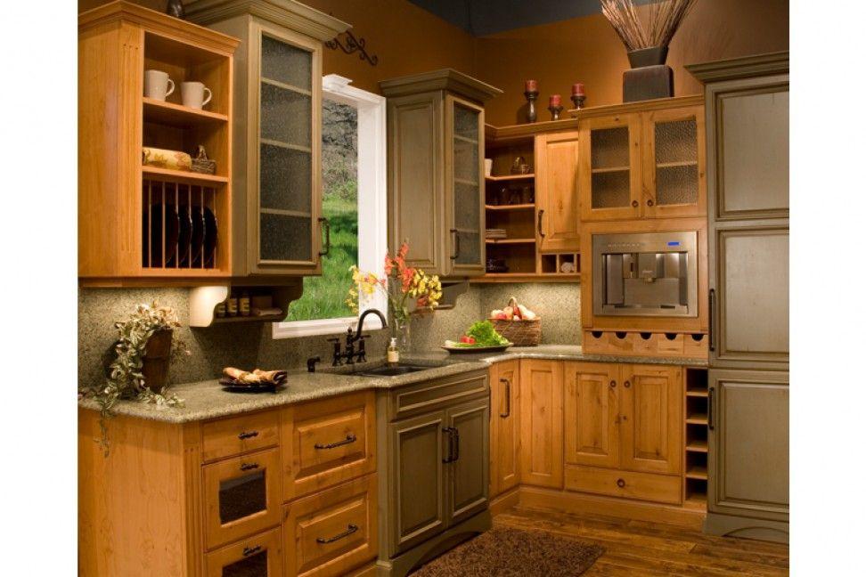 Tahoe Alder Golden Mocha Glaze Richmond Alder Rosemary Villa Iii Gorgeous Kitchen Design Richmond Design Ideas