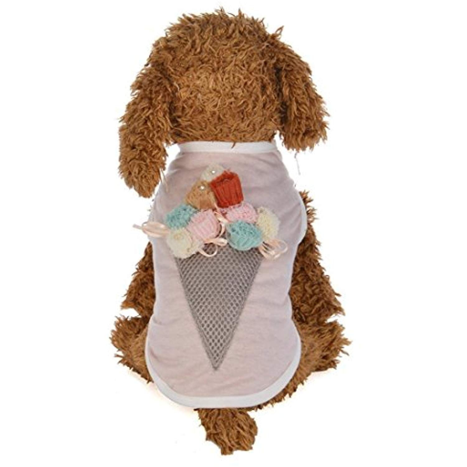 b0f491d025c6 Letdown Puppy Clothes, Hot Sale Spring and Summer Ice Cream Cone Vest Dog  Costumes Pet Clothes *** See this great product. (This is an affiliate  link) # ...