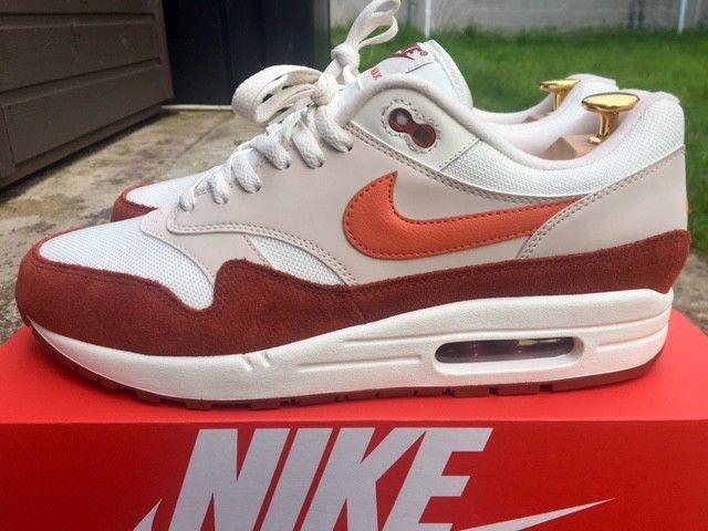 materno Sociedad leyendo  Nike Air Max 1 Size 10 UK Coral-Mars NEW AH8145-104 Trainers FREE POST  820652725867 | eBay | Nike air max, Sneakers, Air max 1