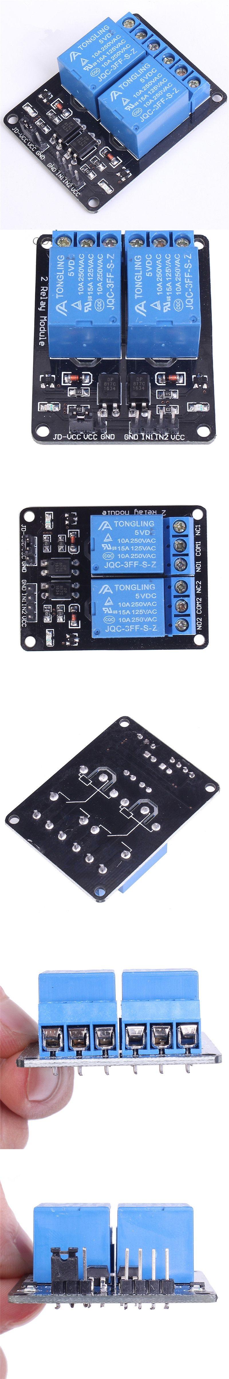 5v 2 Channel Relay Module For Arduino Uno R3 Raspberry Pi Demo Board